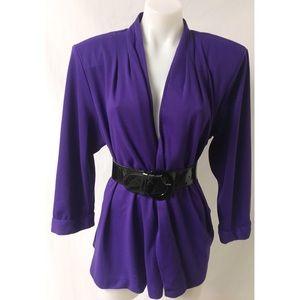 Purple Vintage Cardigan 12